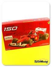 Kit 1/20 Fujimi - Ferrari 150 Italia Banco Santander - Nº 5, 6 - Fernando Alonso, Felipe Massa - Gran Premio de Japon 2011 - maqueta de plástico