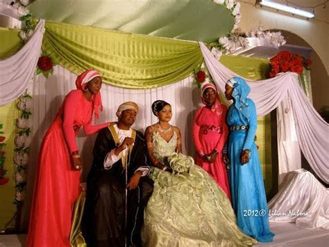 swahili couple on wedding day swahili people are found in