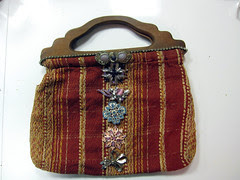 Rhinestone Steampunk Purse! 4