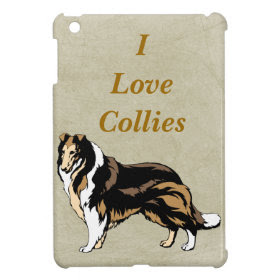 I Love Collies Case For The iPad Mini
