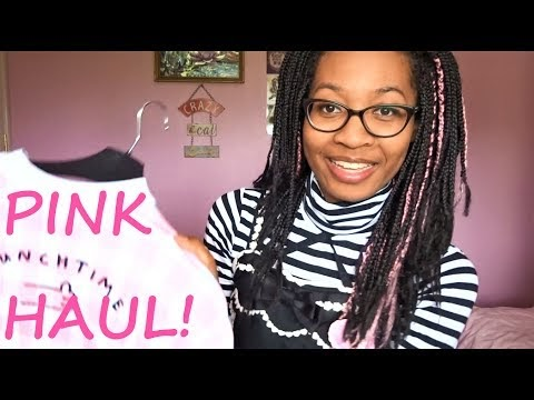 ♥ New Video! A Very Pink Haul ♥