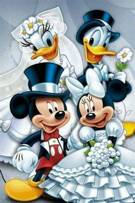 Mickey and Minnie Mouse ? Donald and Daisy Duck ?   Disney