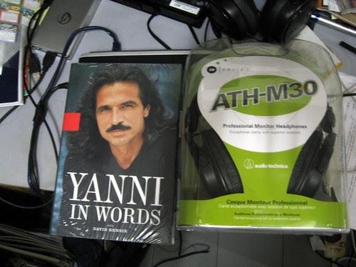 Book & Headphone