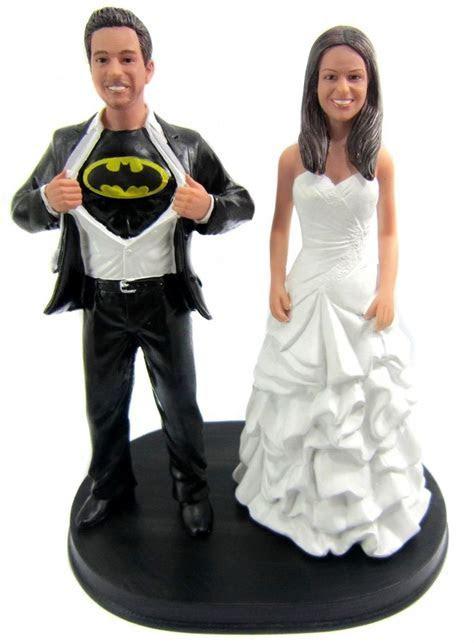 Custom Batman Wedding Cake Topper   Batman wedding cakes