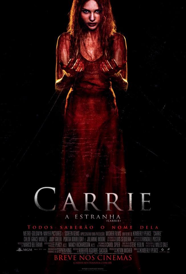 Resenha, filme, Carrie-a-estranha, cartaz, opiniao, resumo