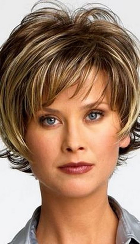Fine Hair Round Face Short Hairstyles For Over 50 44