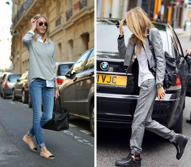 inspiration espadrilles grey slouchy baggy casual fashion blogger turn it inside out belgium