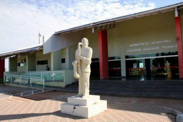 Prefeitura de Rondonópois homologa licitação à aquisição de esteira de bagagem para o Aeroporto Marinho Franco