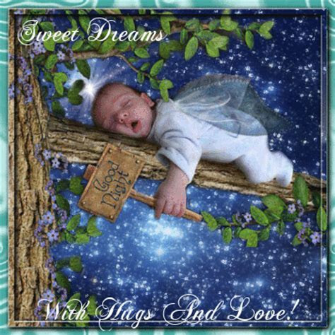 With Hugs And Love! Free Good Night eCards, Greeting Cards