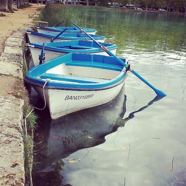 botes en Banyoles
