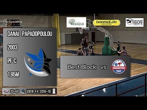 Δείτε το εντυπωσιακό κόψιμο της Δανάης Παπαδοπούλου στο χθεσινό παιχνίδι των κορασίδων του Αστέρα Ιπποδρομίου-Μαντουλίδη με τον Παναθλητικό