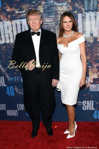 Donald & Melissa Trump