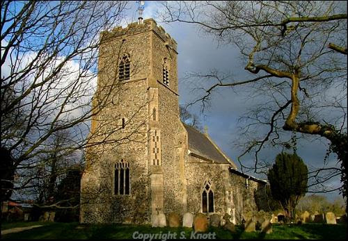 St Mary's Church, Winfarthing. Photograph from www.norfolkchurches.co.uk.