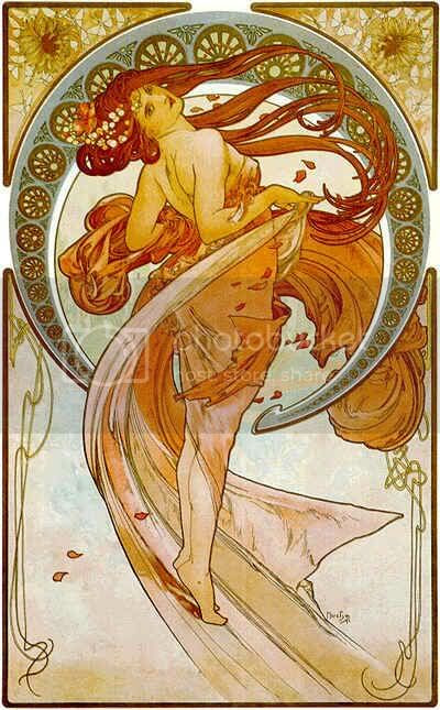 the dance - mucha Pictures, Images and Photos