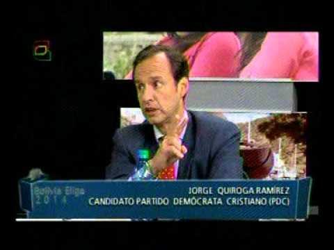 Jorge Tuto Quiroga, entrevista en Bolivia Elige de Bolivia Tv (Parte 1)