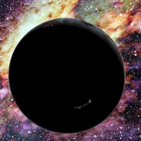 Recreación de un planeta hiperveloz