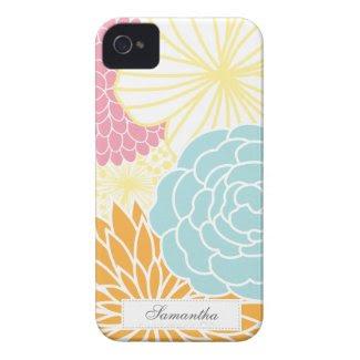 Colorful Mod Florals casematecase