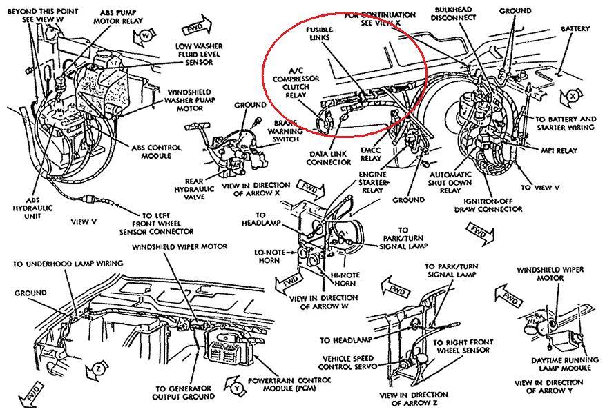 94 Dodge B250 Wiring Diagram Gota Wiring Diagram