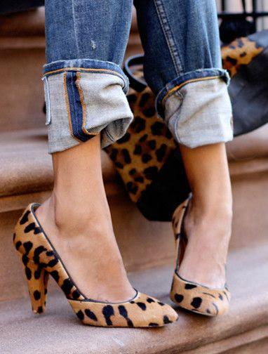 Cuffed & Leopard