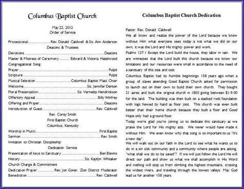 26 Images of Church Bulletin Template Microsoft Word