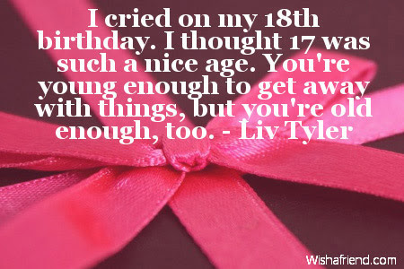 18th Birthday Quotes