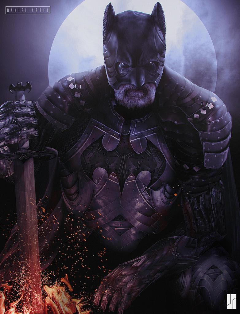 Medieval Batman by Daniel-Abreu