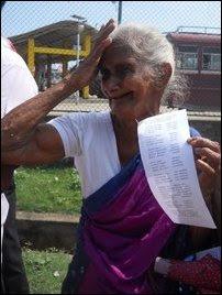 Trincomalee protest