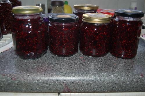 summer fruit jam Aug 12