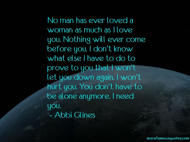 Let Me Prove My Love To You Quotes Top 12 Quotes About Let Me Prove