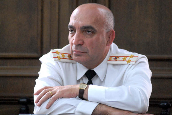 Press: Will top cop's arrest signify law enforcement reform pledged by President Sargsyan?