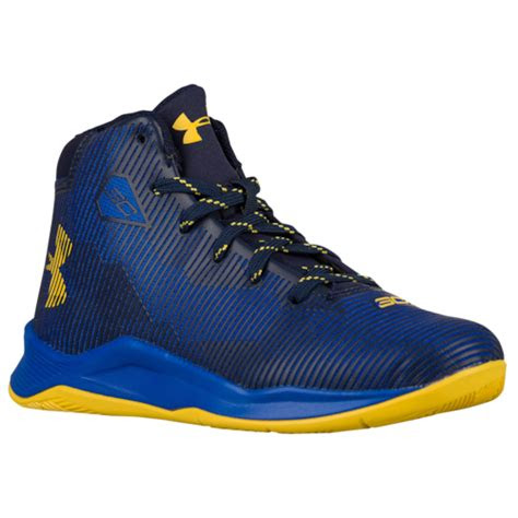 armour curry  boys preschool basketball shoes stephen curry royalyellow