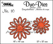 Duo Dies no. 10 Open Flowers Small 2 / Duo Dies no. 10 Open Flowers Small 2