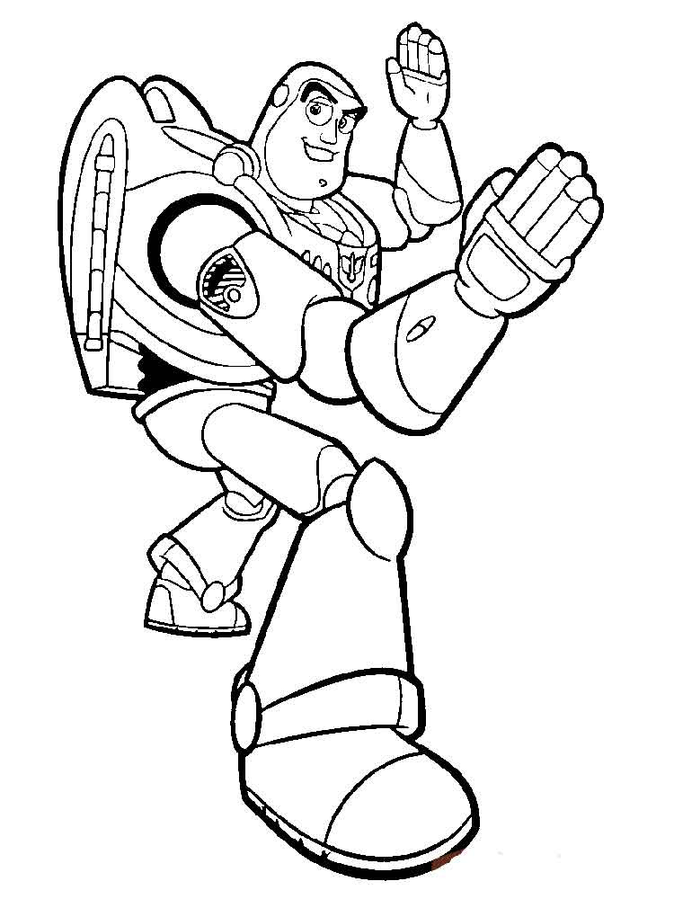 Buzz Lightyear coloring pages. Free Printable Buzz ...
