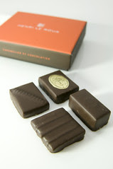 Chocolatier Le Roux, Henri Le Roux, Salon du Chcolat 2009 Tokyo, Shinjuku Isetan