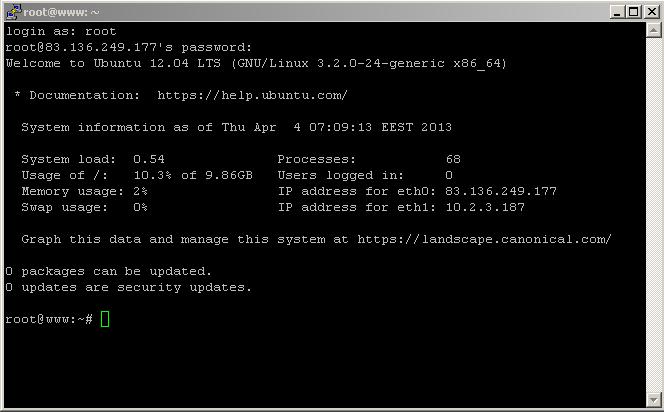Tutorial Membuat SSH (Sheel Secure) Menggunakan VPS Gratis