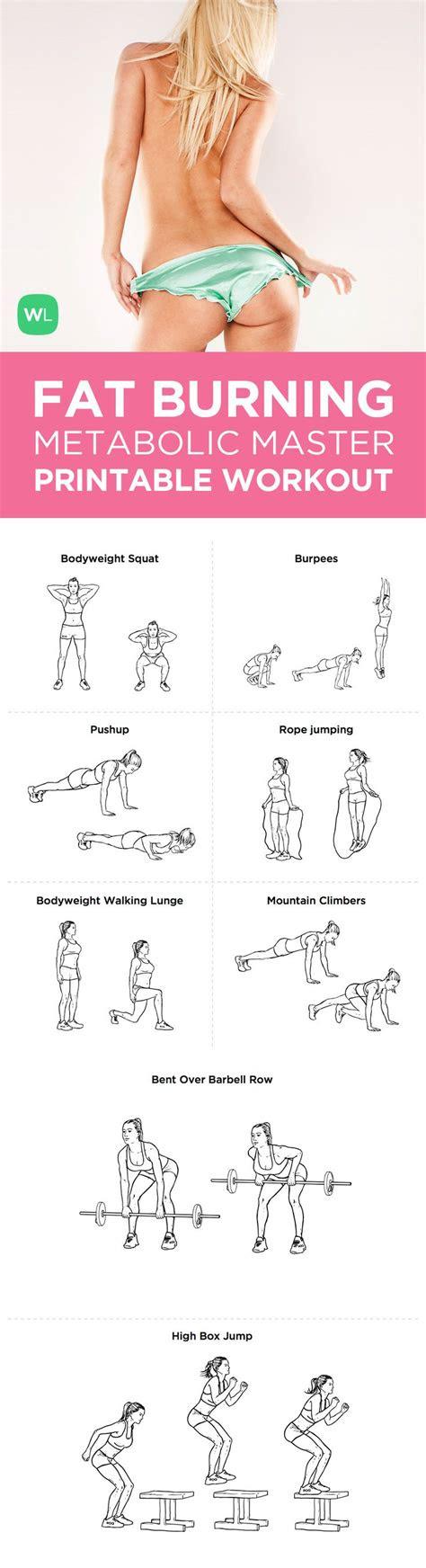 fat burning workout routines michael  blackburn blog