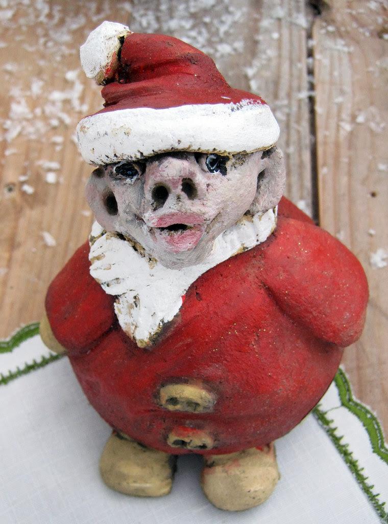 A rather ugly Santa