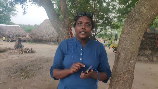 Villupuram-based journalist Krithika Srinivasan. Greeshma Kuthar/Firstpost