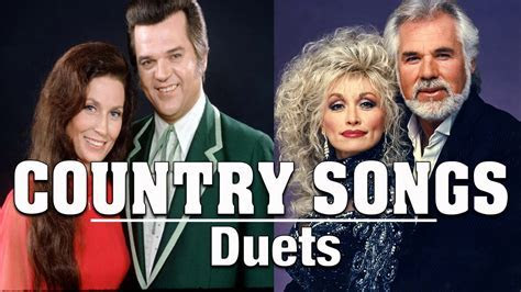 Duets Country Music   Best Classic Country Love Songs