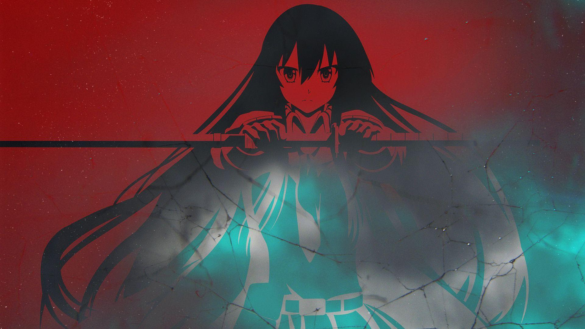 Hd Akame With A Sword Akame Ga Kill Wallpaper Download Free
