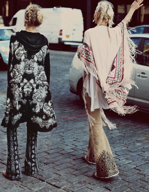 you can't step foot inside the coachella polo fields without a poncho. either of these will do. both by free people.