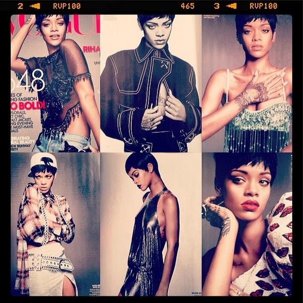 Rihanna Vogue March 2014