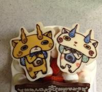 妖怪ウォッチ コマさんとコマじろうのお誕生日ケーキちょこっとしょこ