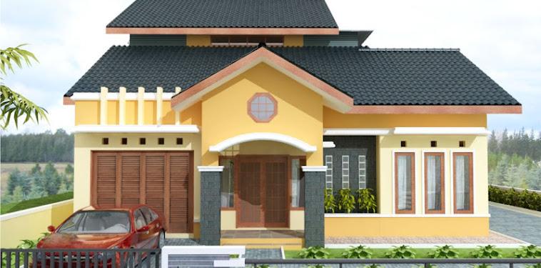 Kumpulan Gambar Desain Rumah Minimalis Modern Plus Toko