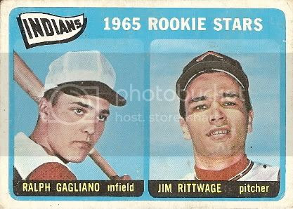 #501 Indians Rookies: Ralph Gagliano and Jim Rittwage