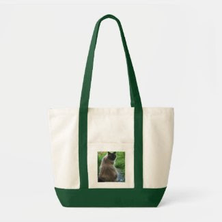 Blue Eyed Kitty Cat Bag