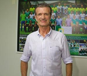 Aron Dresch, presidente do Cuiabá (Foto: Pedro Lima/Cuiabá Esporte Clube)