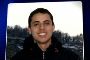 Felipe Santos, 28 anos, morto no Chile (Foto: Reprodução / TV Globo)