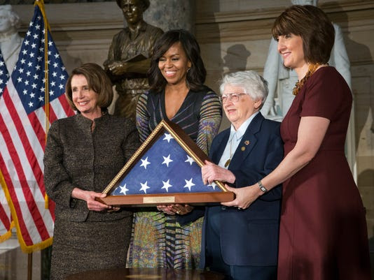 Nancy Pelosi, Michelle Obama, Wilma L. Vaught, Cathy McMorris Rodgers