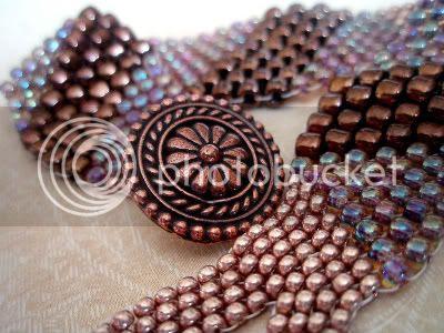 Champagne Berry Bracelet by Ocean Pearl Jewellery